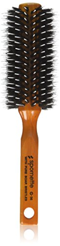 Porcupine Boar-Nylon Bristle Round Brush , 2-Inch Diameter