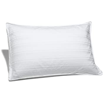 Amazoncom pinzon hypoallergenic white duck down pillow for Best down pillows consumer reports