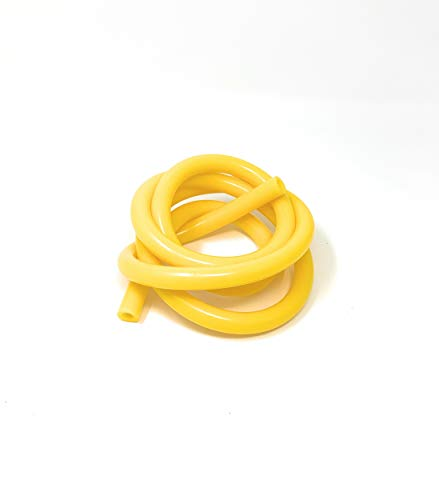 JNK NETWORKS High Performance 5 Feet Length Silicone Vacuum Hose Line (8MM(5/16 Inch), YELLOW)
