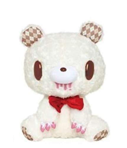 Taito ChaXGP Teddy Gloomy Stuffed Plush Type-Argyle Argyle White 30cm Japan - Plush Gloomy Bear