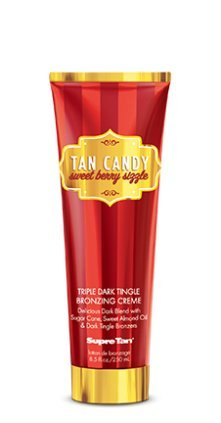 Supre Tan Candy SWEET BERRY APPLE SIZZLE Triple Dark Tingle