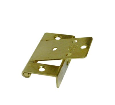 Lid Hinge Non Mortise Polished Brass Plated (Polished Pivot Brass)