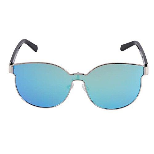 Polarisierte Sonnenbrille Multifunktionslinse Herren Damen Reiten Baseball Einfache Sonnenbrille,Blue