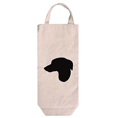 Canvas Wine Bag Tote With Handles Whippet Silhouette By Style In (Whippet Tote Bag)