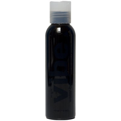 4oz Black Vibe Face Paint Water Based Airbrush Makeup by European Body Art