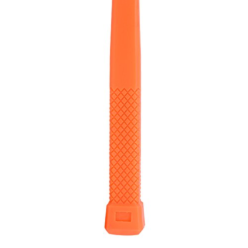 Neiko 02847A 2 LB Dead Blow Hammer, Neon Orange I Unibody Molded | Checkered Grip | Spark and Rebound Resistant by Neiko (Image #3)
