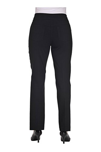 Pull-On Boot Cut Pant Black 12 by Alia (Image #3)