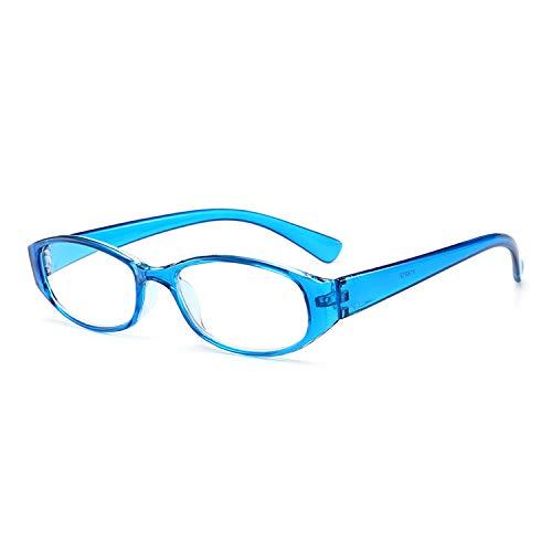 Lovescenario T18913 Reading Glasses Diopter +1.0 to +4.0 Women Men Full-Frame Round Lens Presbyopic Glasses Ultralight Anti-Fatigue