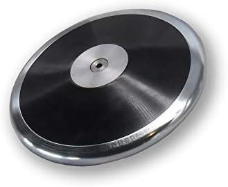 ブラックギャラクシートラックとフィールドメンズ円盤1.6 k – 1.6 kg円盤 – 高校ボーイズ投球ディスク – 中級/初心者投球者は、このハイフライヤーをチェックしたいでしょう! !