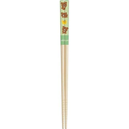 San-X Rilakkuma Natural Bamboo made Chopsticks KY65301 (Cook Ware Starwars)