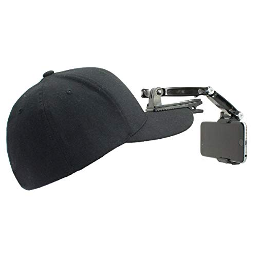 Action Mount Wearable Hat Clip Mount for Hands Free