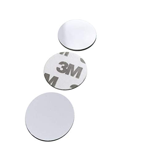 125 khz RFID Sticker,PVC Material 1mm Thick id Coin Key fobs (Pack of 10)