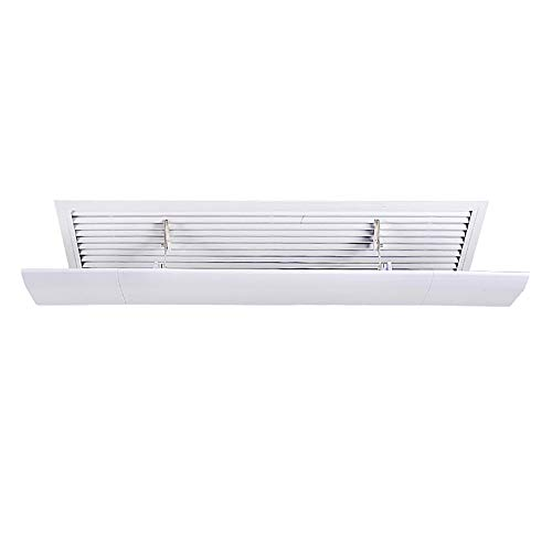 Baffle Deflector - Air Conditioning Wind Deflector Anti-Direct Blow Wall-Mounted Universal Air Outlet Baffle Protective Cover