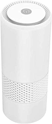 XYNB Purificador de Aire para automóvil, para ambientador doméstico, con esterilización por ionizador de Filtro HEPA, elimine el Polvo del Olor a Cigarrillo ...
