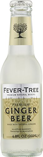 Fever-Tree Premium Ginger Beer, 6.8 Ounce Glass Bottles (Pack of 24)