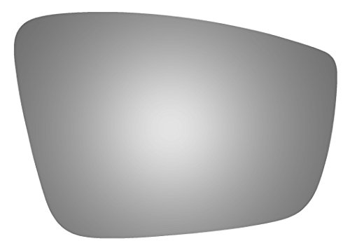 Burco 5437 Convex Passenger Side Power Replacement Mirror Glass (Mount Not Included) for VOLKSWAGEN BEETLE (2012 2013 2014 2015 2016 2017) VOLKSWAGEN JETTA (2011 2012 2013 2014 2015)