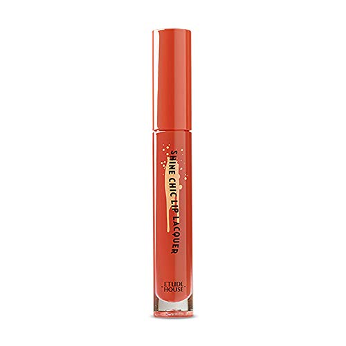Etude House Shine Chic Lip Lacquer (OR203 Vintage Carrot)