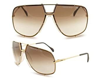 9ed2f5fa8906 Image Unavailable. Image not available for. Color  Cazal Sunglasses TARGA 902  GOLD ...