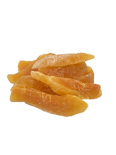 NUTS U.S. - Dried Cantaloupe Spears, Low Sugar, No Added Color, NON-GMO, Natural!!! (2 LBS)