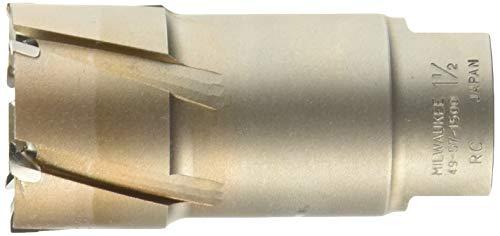 Milwaukee 49-57-1500 Steel Hawg 1-1/2-Inch Diameter 2-Inch Depth Threaded Shank Annular Cutter