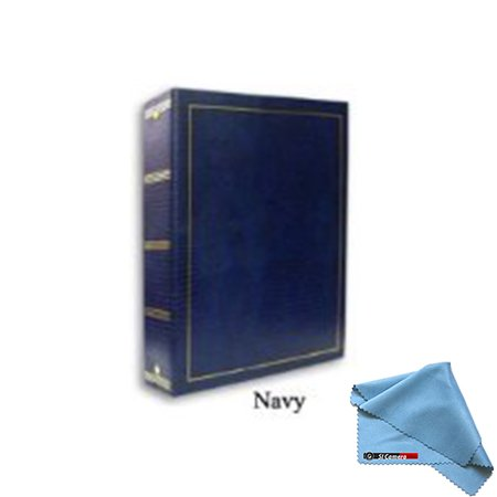 Pioneer LM-100 100 Page Magnetic 3-Ring Photo Album (12-Pack) Navy Blue