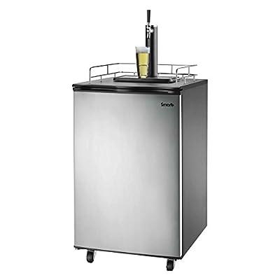 Versonel SPP155BDSS Smart+ Freestand Full Keg Kegerator Beer-Meister