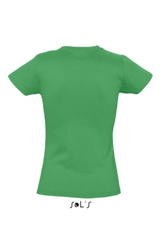 Sols - Imperial women - Damen Rundhals T-Shirt M,Kelly Green