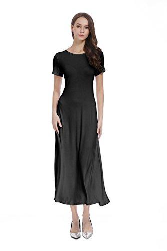 long black pleated dress - 7