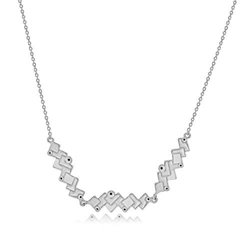 Charlotte Valkeniers femme  Argent 925/1000  Argent|#Silver Rond   Bleu Kristall