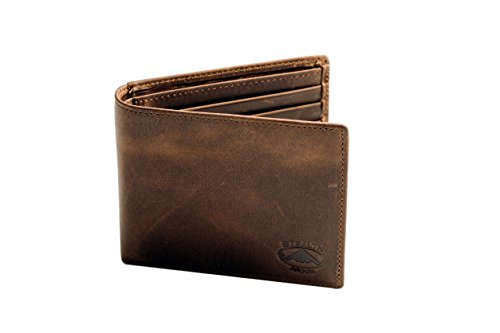 Stealth Mode Leather Bifold Wallet
