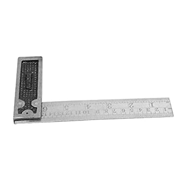 """Tools-4-All Metal/Wood Montstar Metal Try Square, 6"""" (Multicolor) 5"""