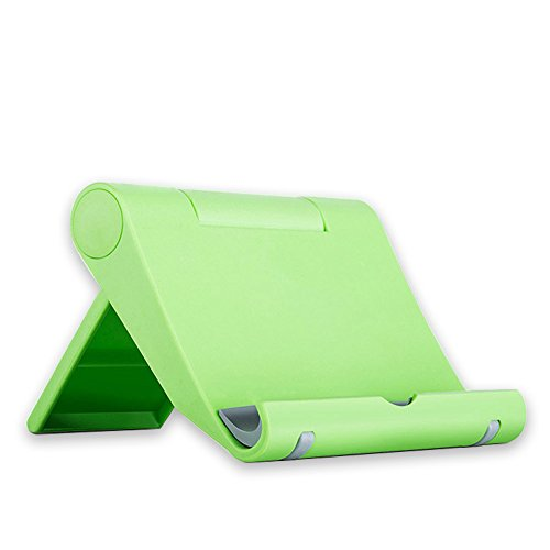 Phone Universal Green Cell (Cell Phone Stand Holder for iPhone Universal Cell Phone Stand Flexible Desk Holder Stand for Samsung Xiaomi Huawei iPad Tablet (Green))