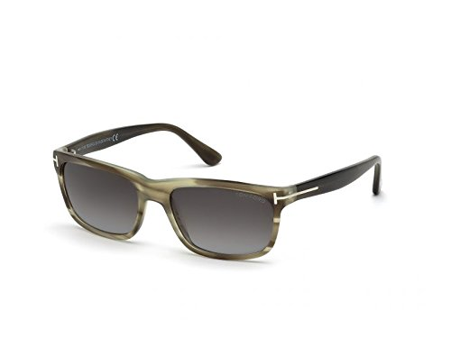 Tom Ford 0337 20P Green Marble Hugh Wayfarer Sunglasses Lens Category ()