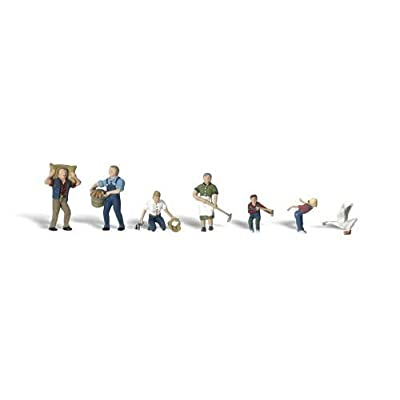 Woodland Scenics N Farm People WOOA2152: Toys & Games