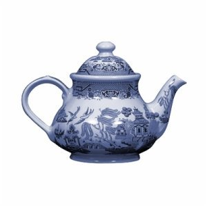Churchill Blue Willow Teapot 40-ounce by Churchill China