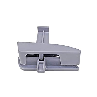 GreatUs 41042 Center Console Latch 58910AD030B0 Console Lid Lock fits for 2005-2012 Toyota Tacoma-Gray: Automotive