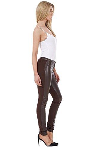 Island Café De Vaqueros River Jeggings Mallas Elásticas Pitillo Sintética Mujer Piel Moda Ex Pantalones xUw1f6Tf