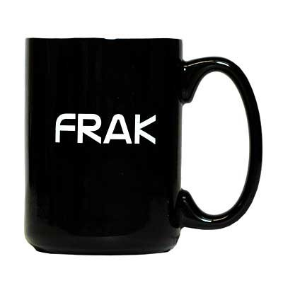 Battlestar Galactica Frak Coffee Mug