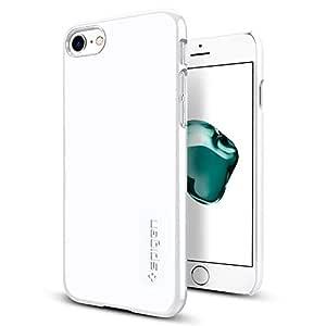 Spigen iPhone 7 Thin Fit cover / case - Jet White