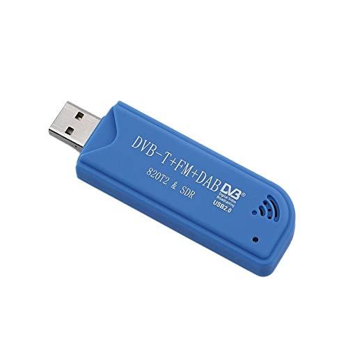 FM Equipo de v/ídeo TV del Receptor del sintonizador del palillo con el RC a/érea RTL2832U Y R820T2 USB Dongle Dab Finesgo USB 2.0 Digital DVB-T TDT SDR