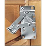 Rev-A-Shelf 6552-95-0220 6552 Seriesone Pair of Hinges for Tip-Out Trays 16 or Longer, Chrome by Rev-A-Shelf