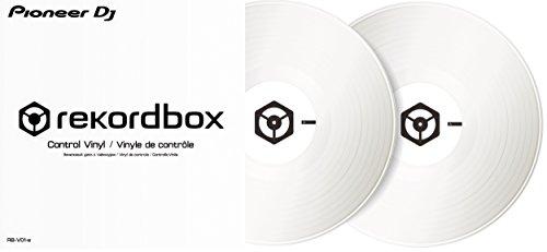 [해외] Pioneer DJ 파이오니아 / Control vinyl 화이트 REKORDBOX DVS전용