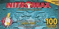 NitroMax Powder-Free Nitrile Exam Gloves, 5 Mil, Large, 1000 gloves, Emerald 2088