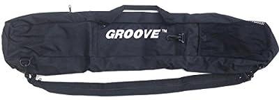 Groove USA Groove Skiboard/Snowblade/junior ski Carry Bag and Backpack 90cm Black