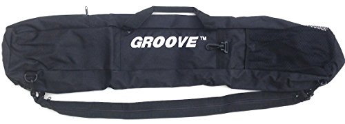 Groove USA Groove Skiboard/Snowblade/junior ski Carry Bag and Backpack 90cm Black by Groove USA