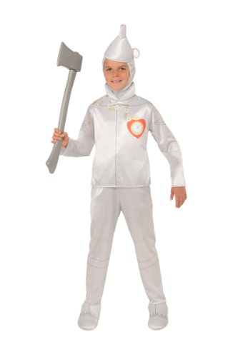 Oz Wizard Tin Kids Costumes Man Of (Wizard of Oz Halloween Sensations Tin Man Costume,)