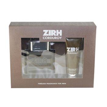 Zirh International Corduroy for Men 2 Piece Gift Set ETD Spray Plus Hair and Body Wash, 4.2 Ounces