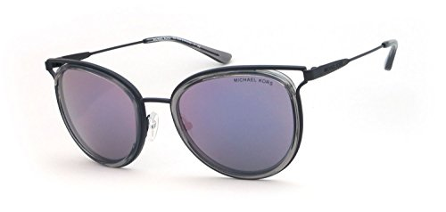 Michael Kors Women's Havana 0MK1025 52mm Grey Crystal/Lilac Mirror One - Kors Michael Sunnies