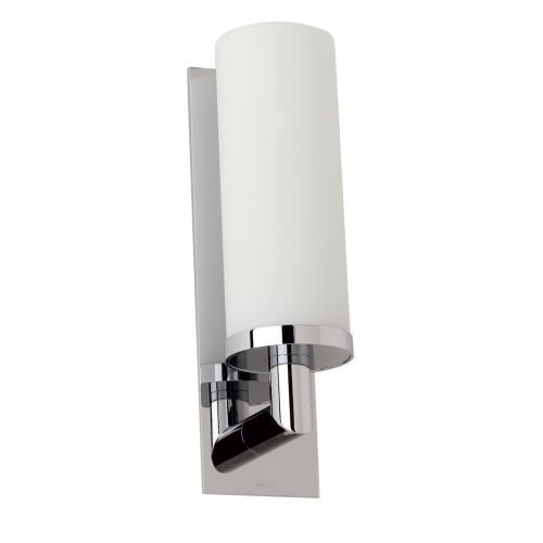 Ginger 2881/26 1 Light Up Lighting Wall Sconce, Polished Chrome (1 Ginger)