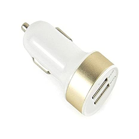 Retina 320 Twin Car Charger (White)